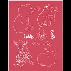 Baby Animals Silkscreen/1 SPO