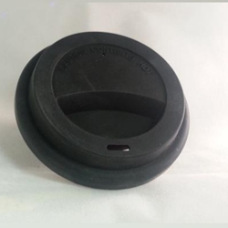 MUGS BLACK SILICONE(PKG6) LID for CCX110/149/6