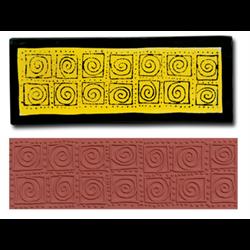 Jumbo Swirl Blocks Stamp SPO