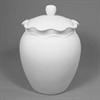 KITCHEN Ruffle Ware Biscotti Jar/4 SPO