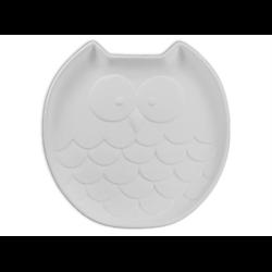 PLATES Medium Owl Dish/8 SPO