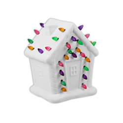 SEASONAL Lighted Gingerbread House/1 SPO