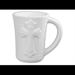 MUGS Bisque Cross Mug/4 SPO
