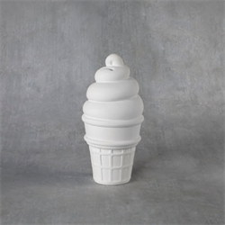 BANKS Ice Cream Cone Bank/6 SPO