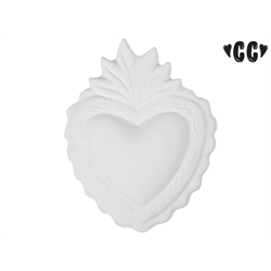 TILES, ETC. Heart with Mounting hole/12 SPO