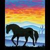 Pattern Pack - Desert Horses II/1 SPO