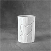 MUGS Tree Carved Heart Vessel/6