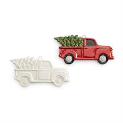 SEASONAL TRUCK WITH TREE ORNAMENT/24 SPO