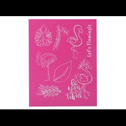 Flamingo Silk Screen/1 SPO