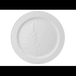 PLATES Rim Christmas Tree Plate/4 SPO
