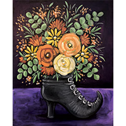 Pattern Pack - Witch's Boot Bouquet/1 SPO