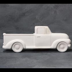TILES, ETC. Vintage Truck Plaque/6 SPO