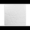 TILES & PLAQUES Floral Texture Tile/12 SPO