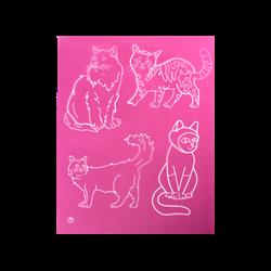 Cats 2 Silkscreen/1 SPO
