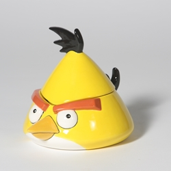 BOXES YELLOW ANGRY BIRD BOX/ABX003/6