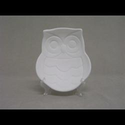 PLATES Owl Plate/6
