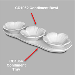 Tray (Fits Cd1062 Condiment Bowl (Casting Mold) SPO