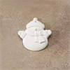 SEASONAL FLAT SNOWMAN ORNAMENT/24 SPO