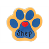 SEASONAL Paw Print Ornament/12 SPO