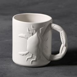 MUGS Crab Mug/6 SPO