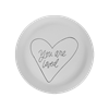 PLATES You Are Loved Plate/6 SPO