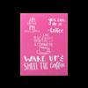 Coffee Letters Silkscreen/1 SPO