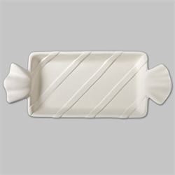 PLATES Wrapped Candy Dish/12 SPO