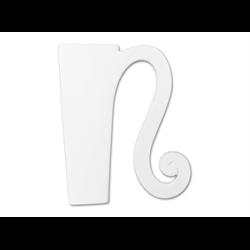 """TILES & PLAQUES 8"""" Curvy Letter N /1 SPO"""