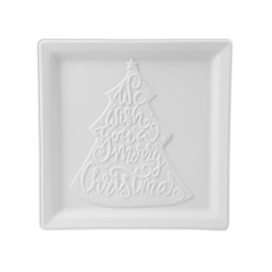 PLATES We Wish You A Merry Christmas Plate/6 SPO