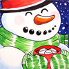 Pattern Pack - Cozy Snowman/1 SPO