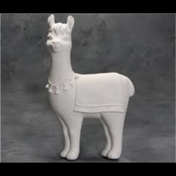 TILES, ETC. Llama Plaque/6 SPO