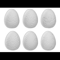 SEASONAL Textured Easter Egg Set/12 SPO