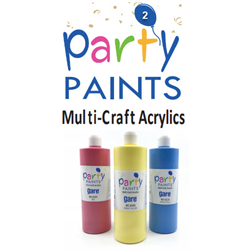 Party Paint Acrylics Intro Package #2 SPO