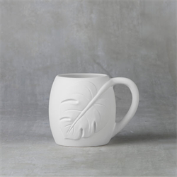 MUGS Monstera Leaf Mug/6 SPO