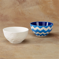 BOWLS CHEVRON BOWL/8 SPO