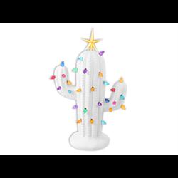 SEASONAL Lighted Christmas Cactus/2 SPO