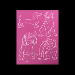 Dogs 2 Silkscreen/1 SPO