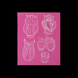 Owl Silk Screen/1 SPO
