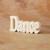 TILES, ETC. DANCE WORD PLAQUE/6 SPO