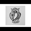 PLATES Baroque Owl Plate/6 SPO