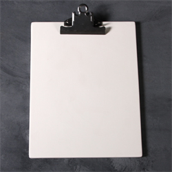 HOME DÉCOR Clay Clipboard/6 SPO