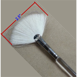 Royal Aqualon Goat Fan Glaze Brush, Size 8/1