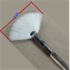 Royal Aqualon Goat Fan Glaze Brush, Size 8/1