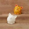 BANKS Pudgy Party Pet Cat Bank/6 SPO