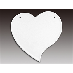 TILES, ETC. Heart Plaque Kit/8 SPO