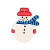 SEASONAL Snowman Ornament/12 SPO