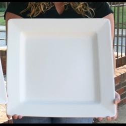 PLATES Big Daddy Square Platter/2 SPO