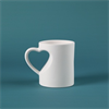 MUGS Medium Heart Mug/12