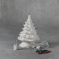 """SEASONAL 8"""" Christmas Tree w/ Base/4 SPO"""