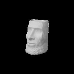 HOME DÉCOR Woodgrain Moai Vase/2 SPO